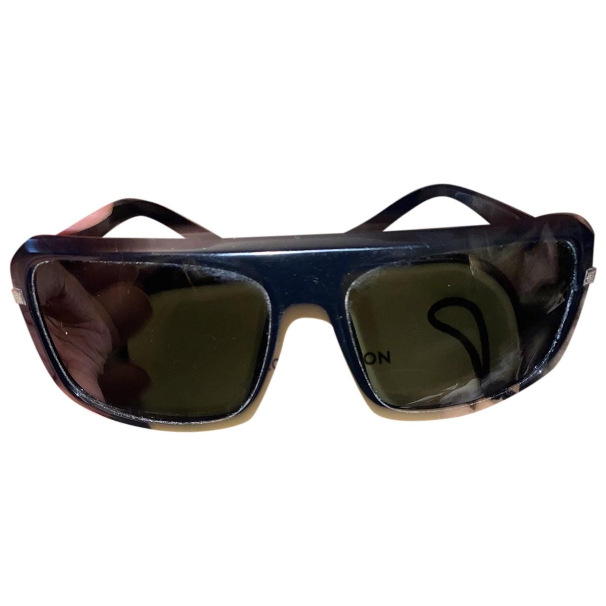 Louis Vuitton N Black Metal Sunglasses for Men N