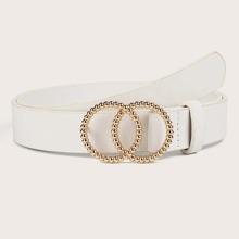 Double Ring Decor Belt