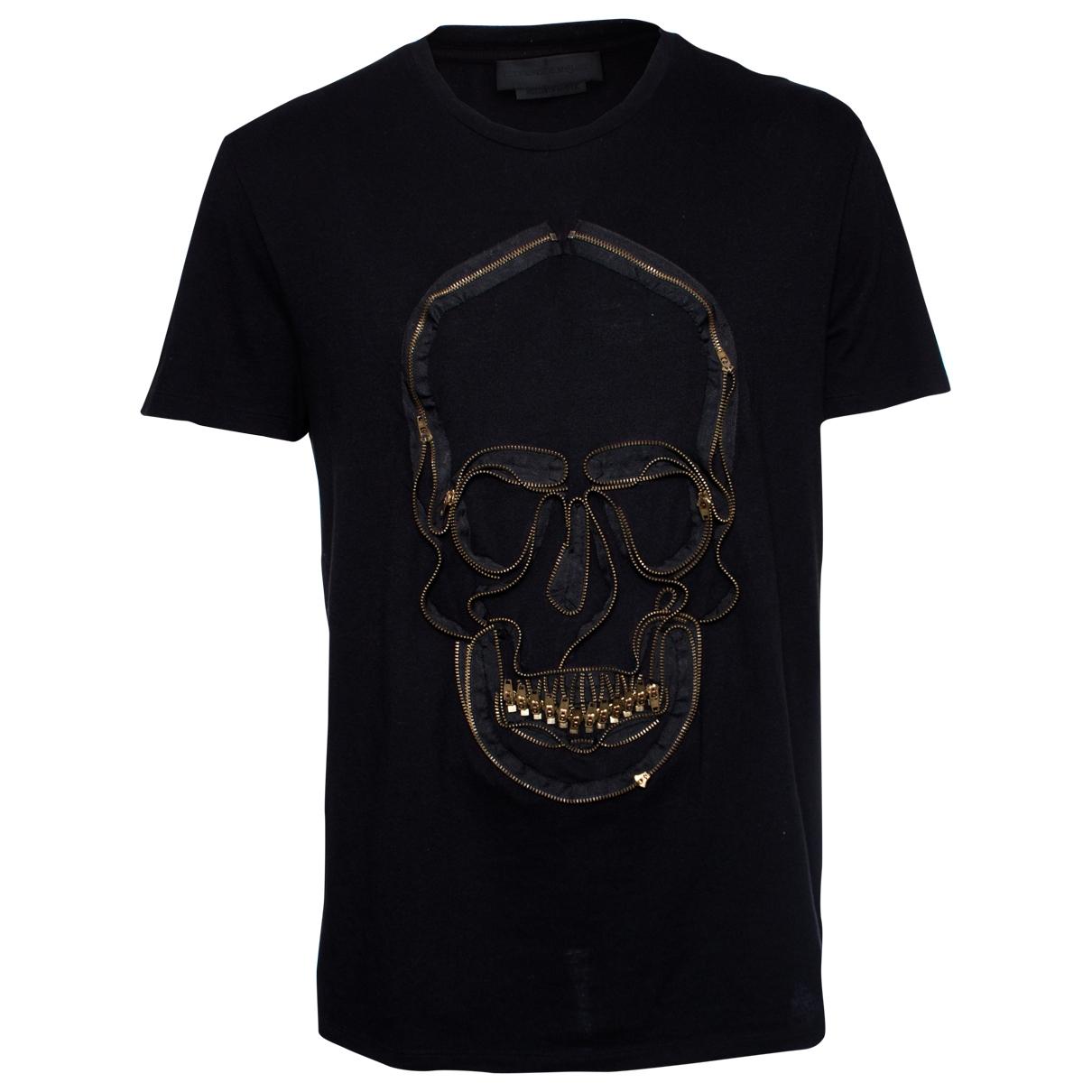 Alexander Mcqueen \N Black Cotton T-shirts for Men XL International