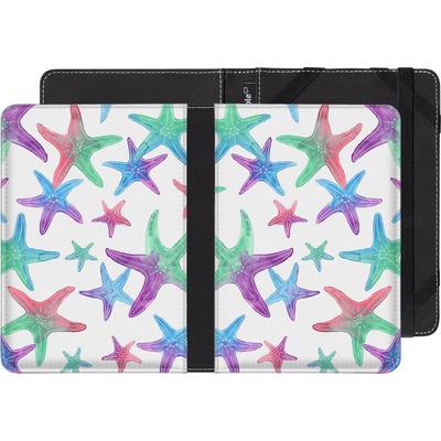 Amazon Kindle eBook Reader Huelle - Starfish Print von Becky Starsmore