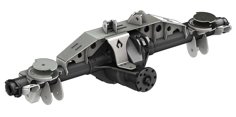 Triangulated ZJ 8.8 Swap Kit W/Truss 2.0 Inch OEM Artec Industries ZJ8822