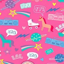 #h9156 Netspeak - Gift Wrap - 24 X 417' - - Gift Wrapping Paper by Paper Mart