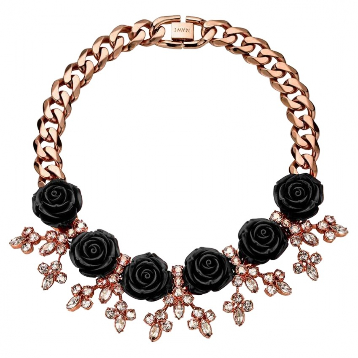 Mawi \N Kette in  Gold Metall