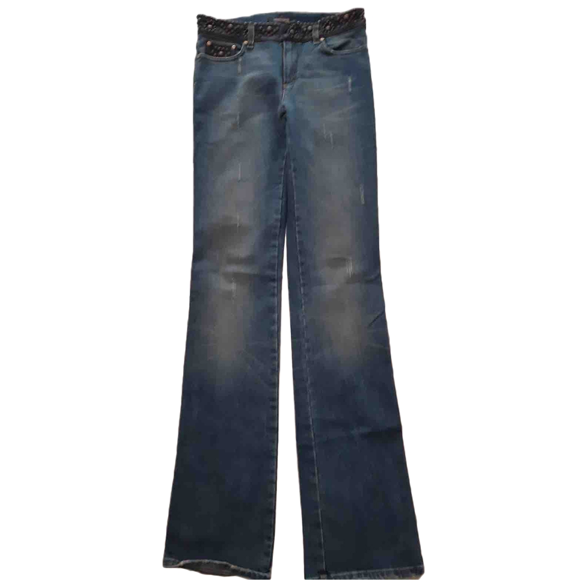 Roberto Cavalli \N Blue Denim - Jeans Jeans for Women 27 US