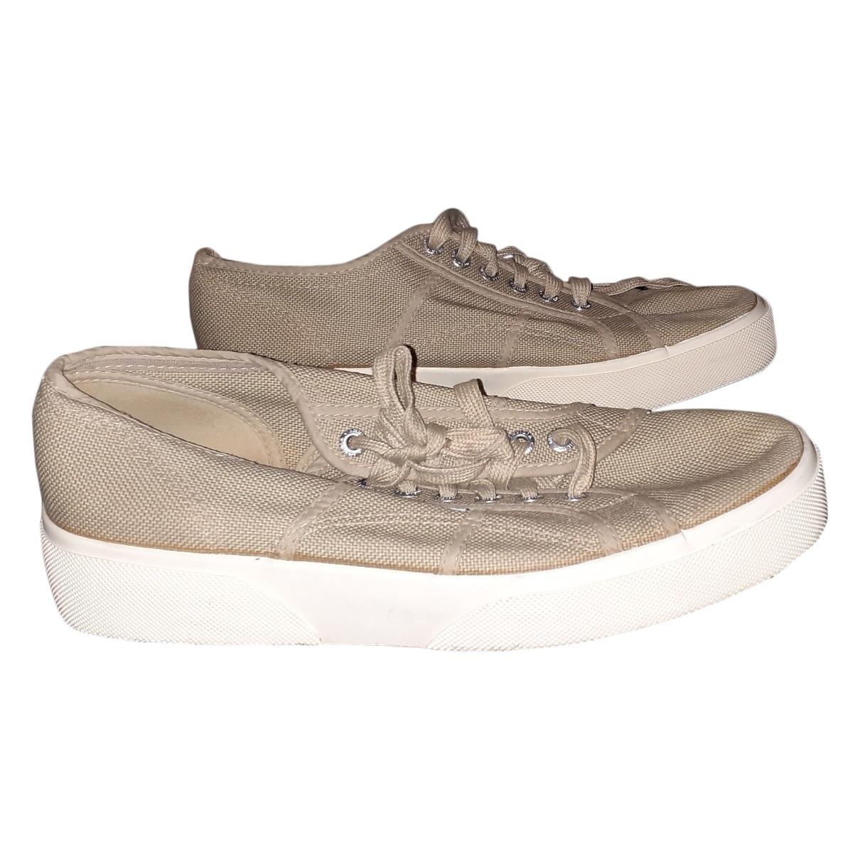 Invicta \N Sneakers in  Beige Leinen