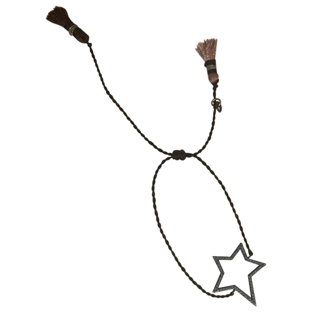 - Bracelet Motifs Etoiles pour femme en acier - bleu