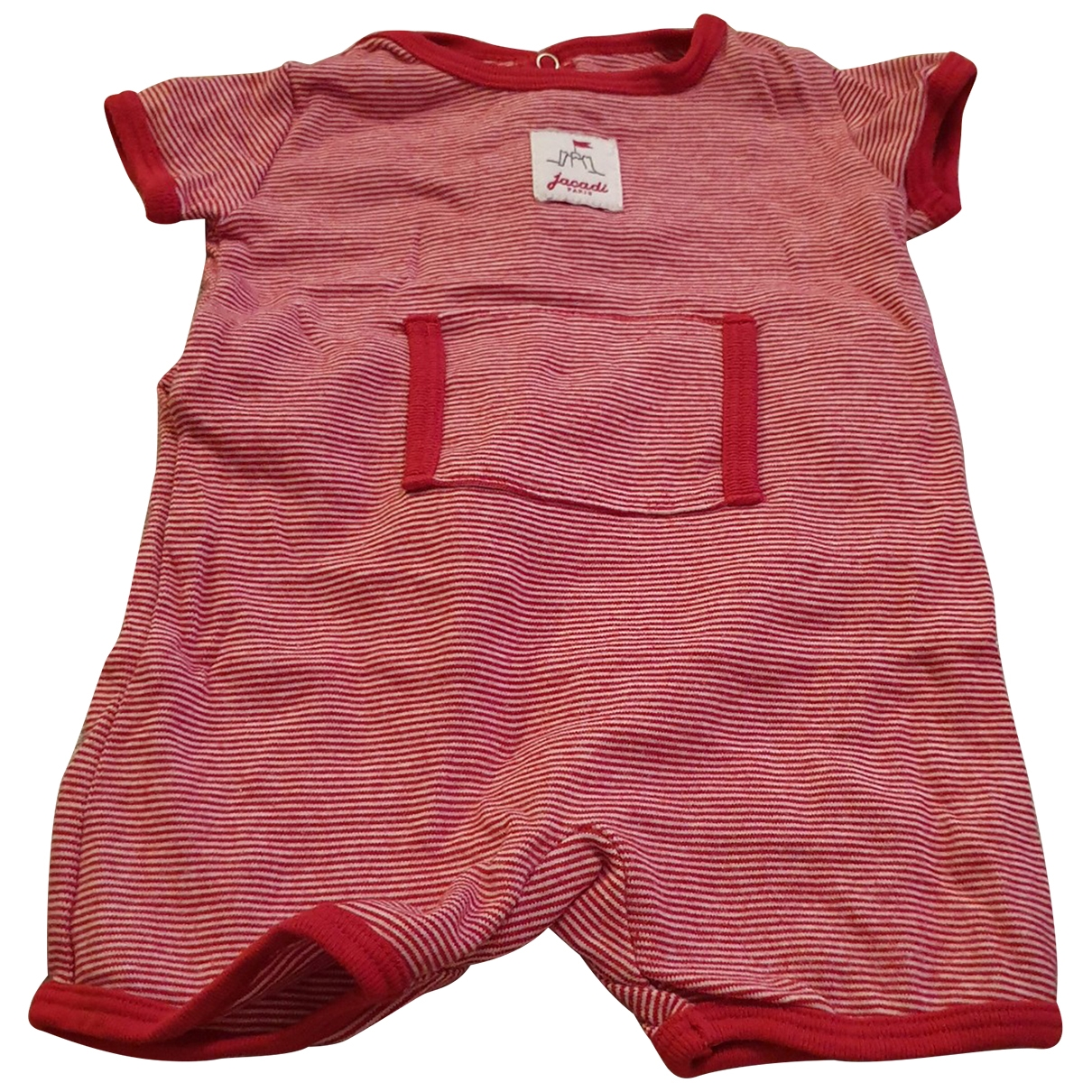 Jacadi \N Red Cotton Outfits for Kids 3 months - up to 60cm FR