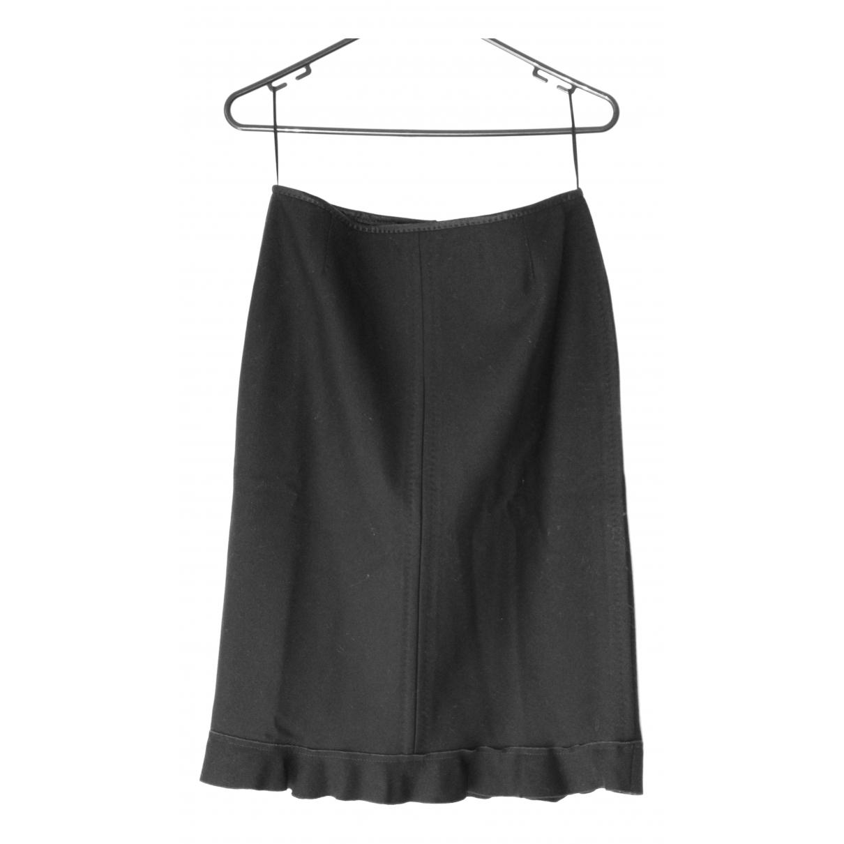Louis Vuitton \N Black Wool skirt for Women 42 FR