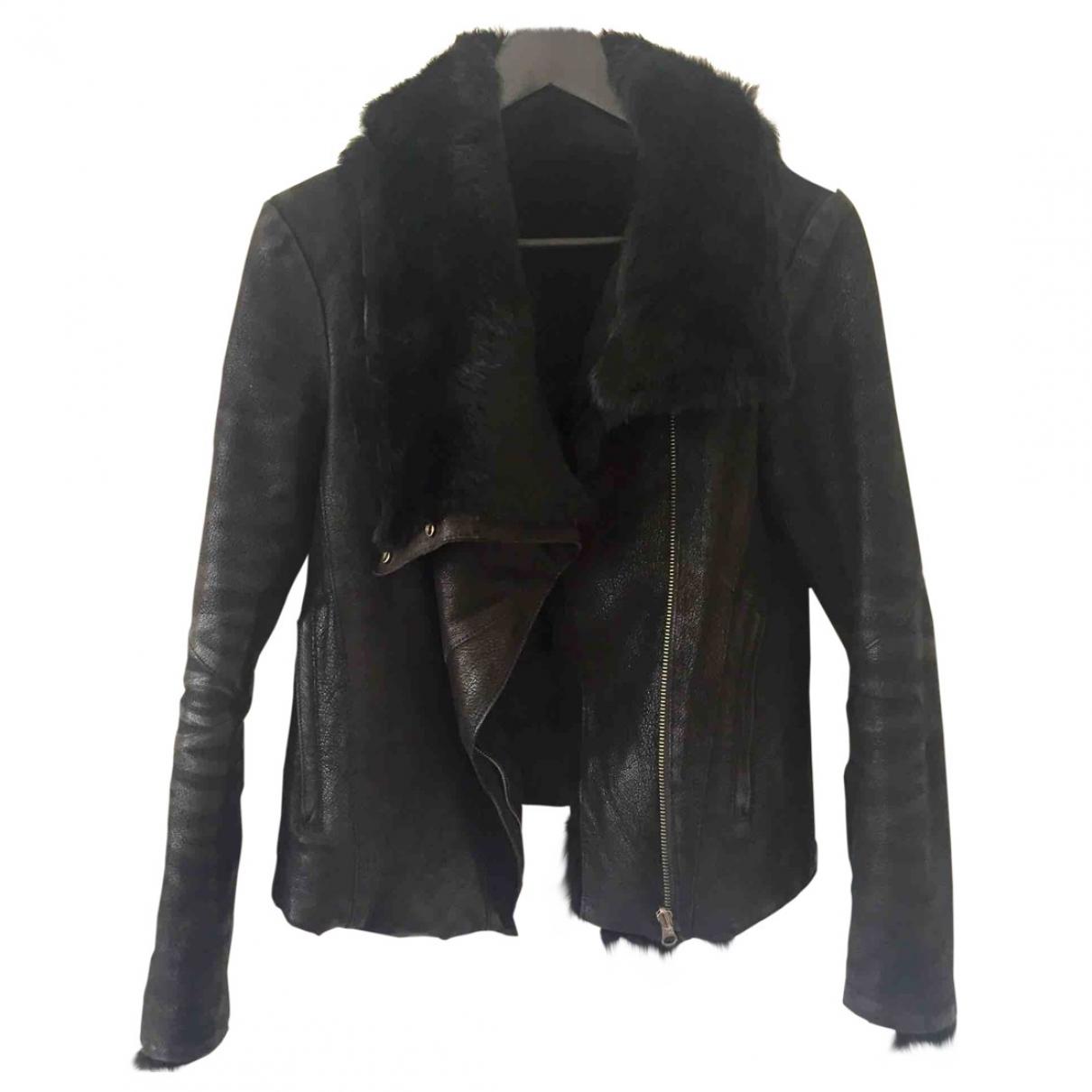 Helmut Lang \N Black Rabbit jacket for Women 4 US