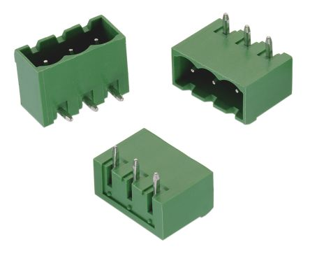 Wurth Elektronik , 313, 5 Way, 1 Row, Right Angle PCB Header
