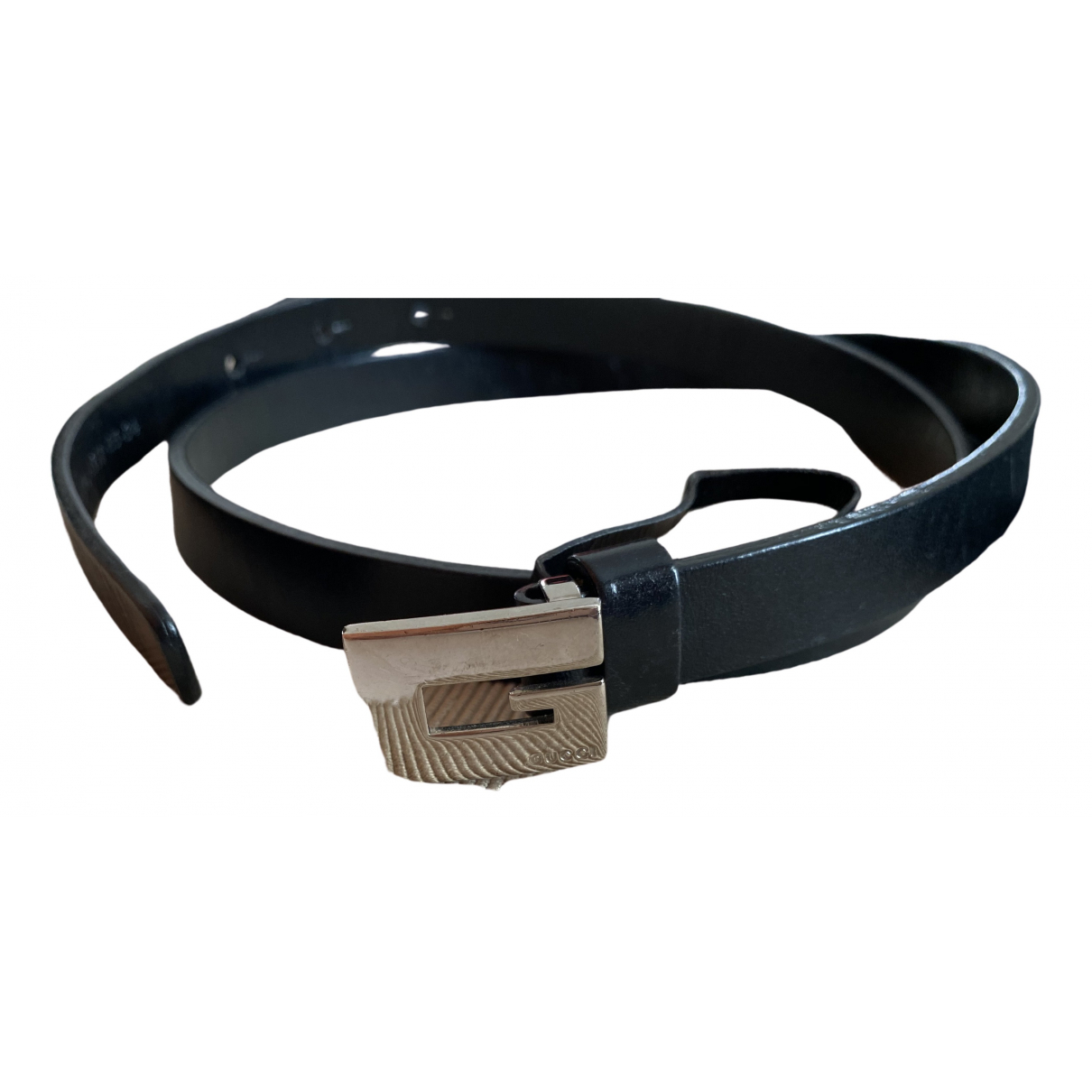 Gucci \N Black Leather belt for Women S International