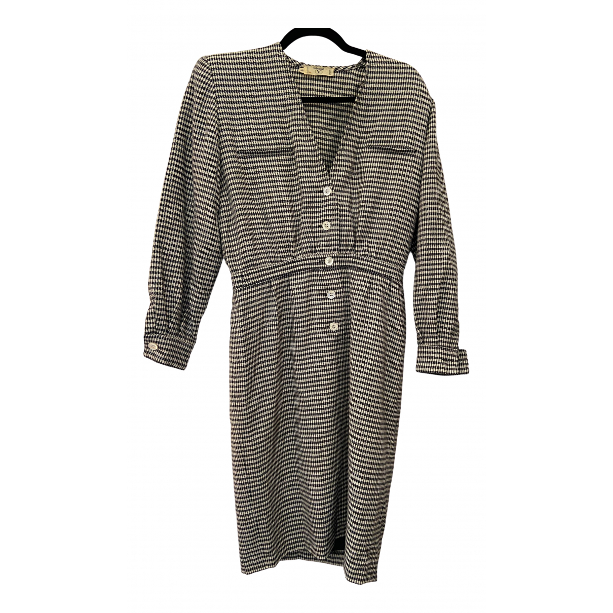 Valentino Garavani \N Kleid in  Bunt Baumwolle