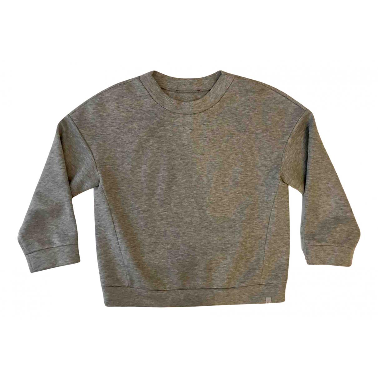 Max Mara Weekend \N Pullover in  Grau Synthetik
