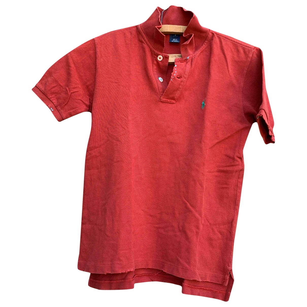 Polo Ralph Lauren \N Red Cotton Knitwear for Kids 8 years - until 50 inches UK