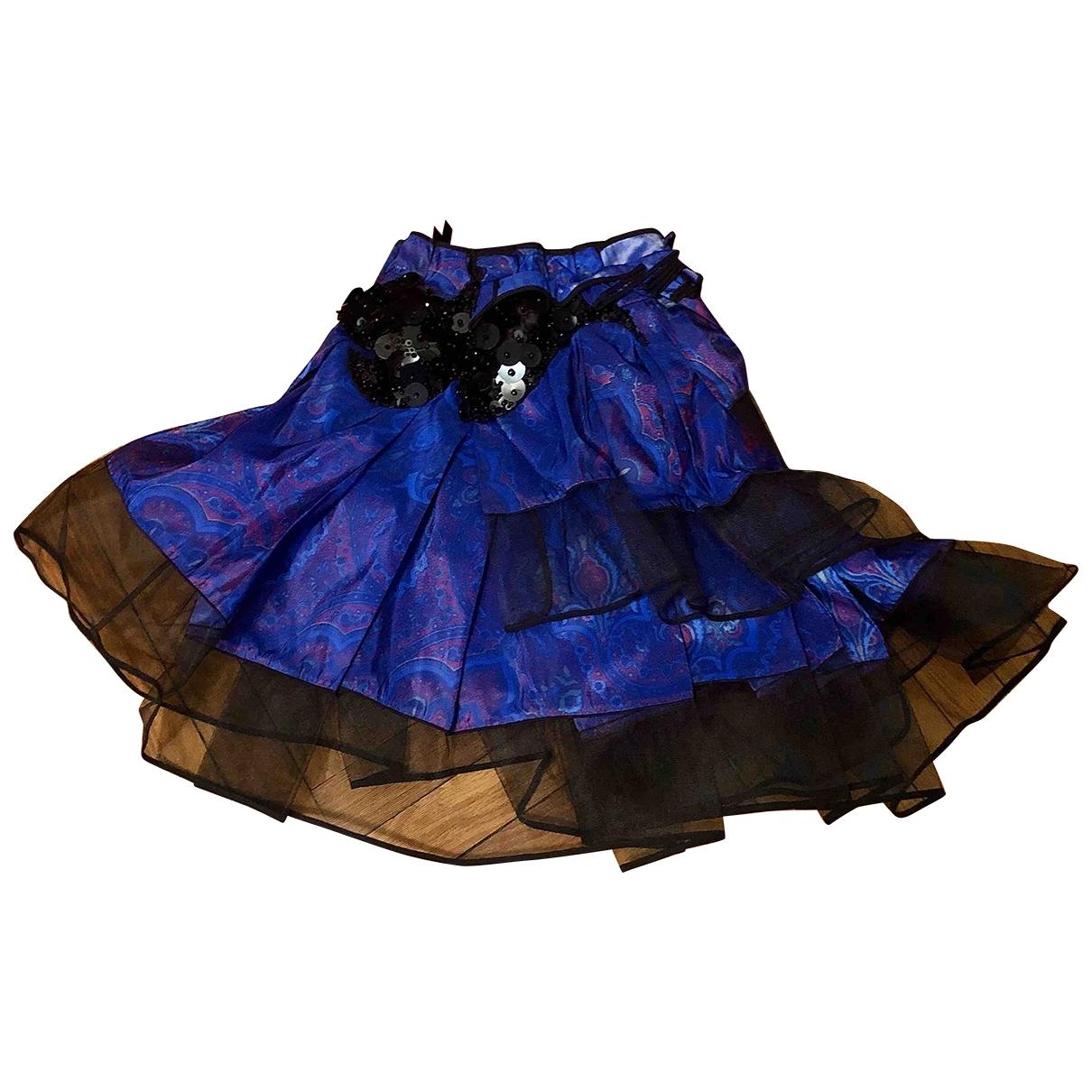 Mini falda de Piel de potro de imitacion Louis Vuitton
