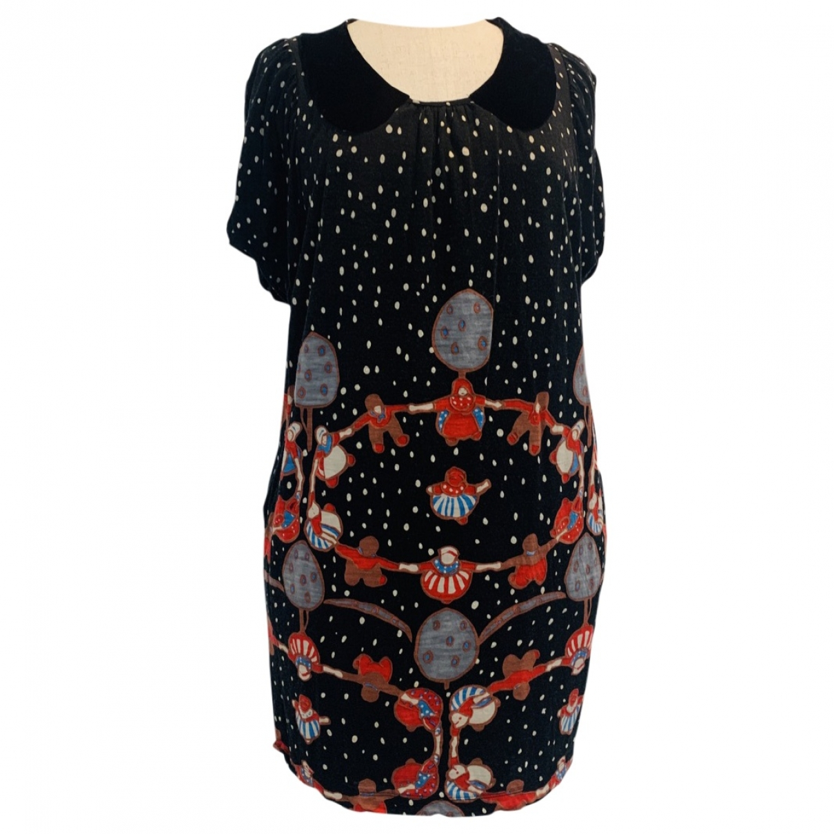Tsumori Chisato \N Multicolour Wool dress for Women 2 0-5