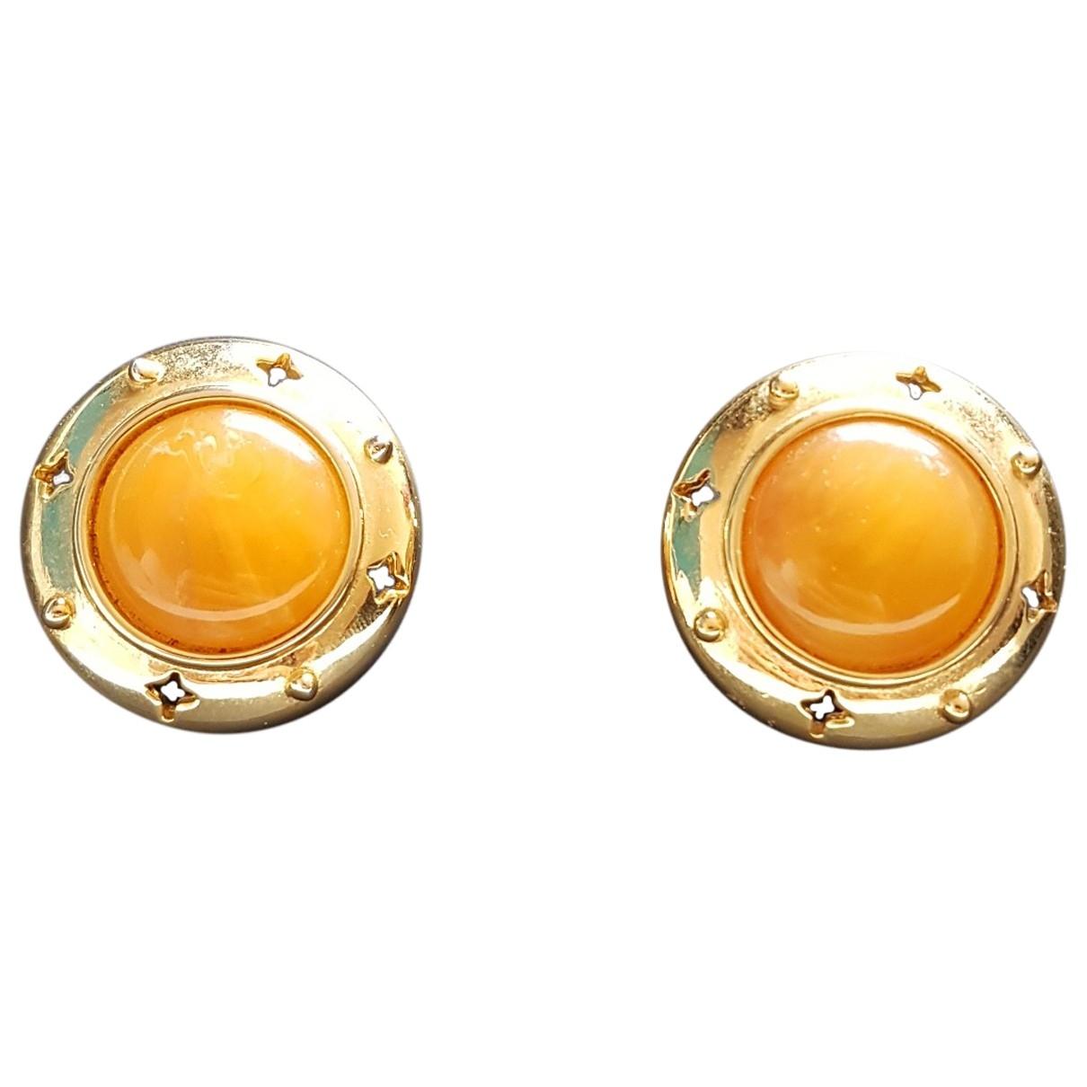 Givenchy \N Gold Metal Earrings for Women \N