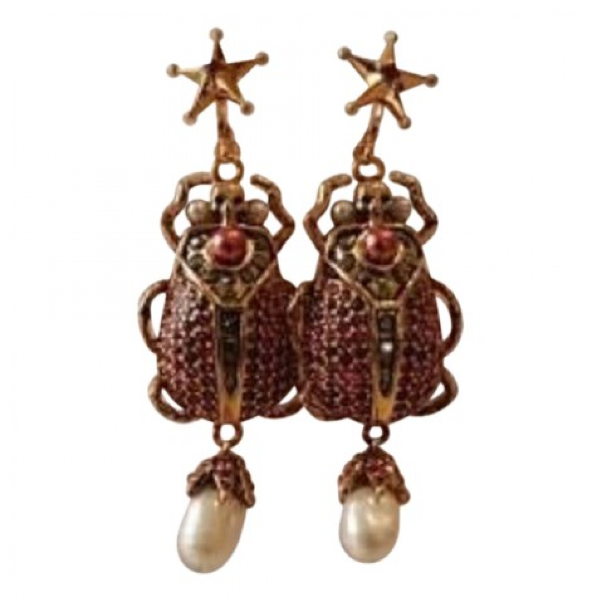 Alexander Mcqueen \N Gold Metal Earrings for Women \N