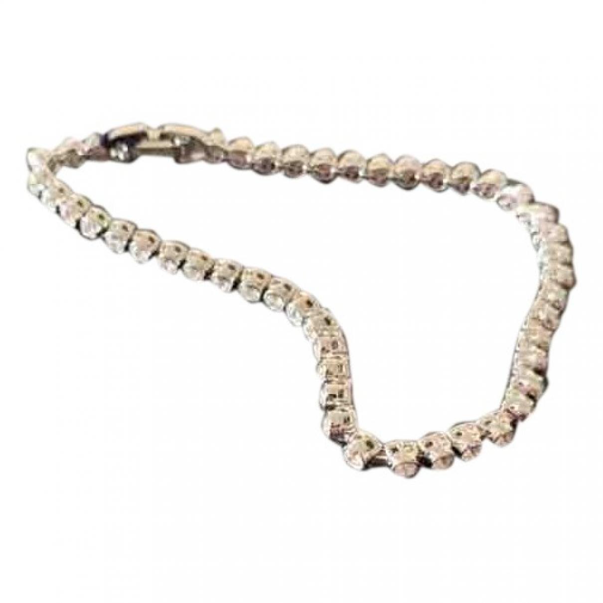 Swarovski N Silver Metal bracelet for Women N