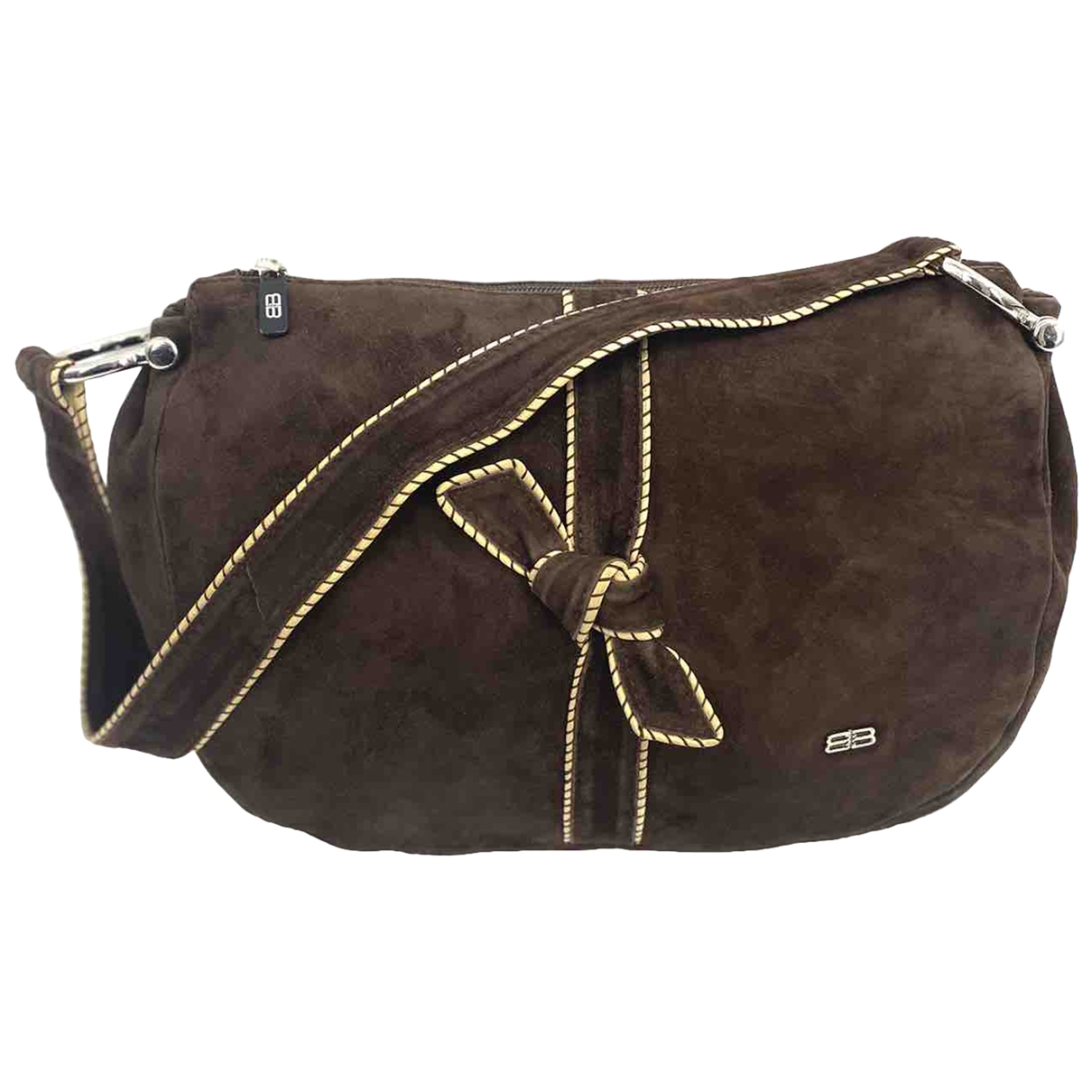 Balenciaga \N Brown Suede handbag for Women \N
