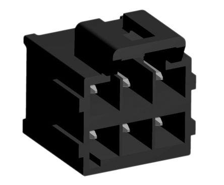 Molex , Ultra-Fit, 172298, 6 Way, 2 Row, Vertical PCB Header (5)