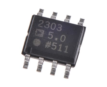 Analog Devices ADP2303ARDZ-5.0-R7, PWM Current Mode Controller, 3 A, 700 kHz, 3 → 20 V, 8-Pin SOIC