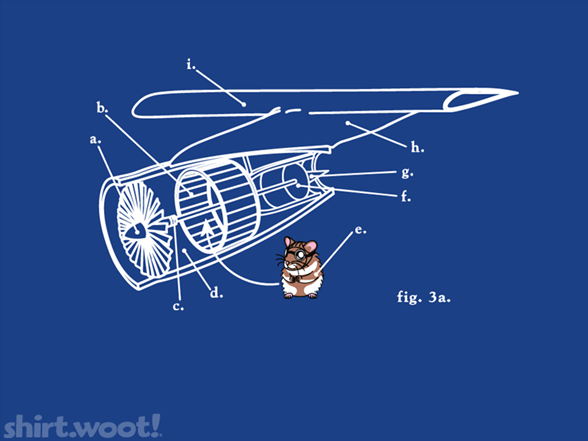 Fly The Furry Skies T Shirt