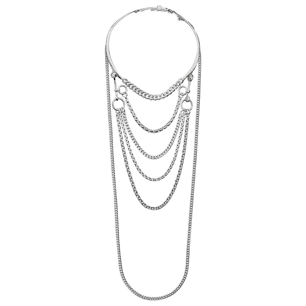 Hermès \N Silver Silver necklace for Women \N