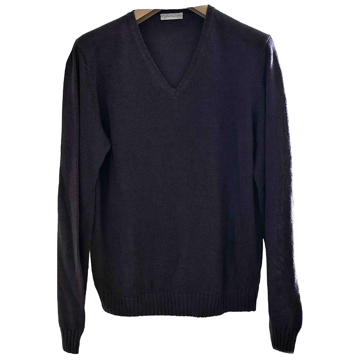 Falconeri \N Anthracite Cotton Knitwear & Sweatshirts for Men 50 IT
