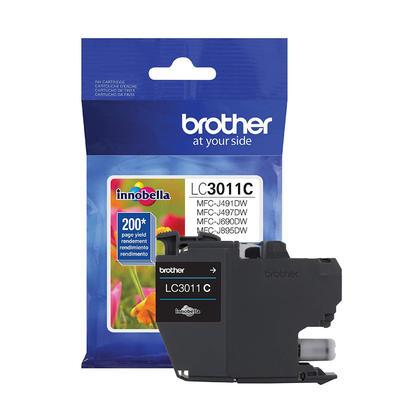 Brother LC3011C cartouche dencre originale cyan