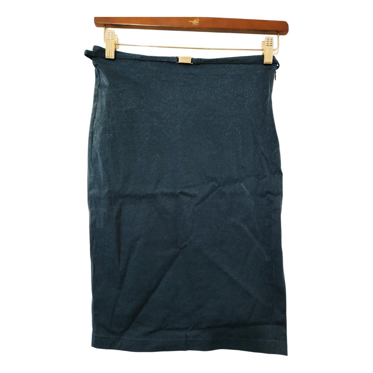 Gianfranco Ferré \N Blue Cotton skirt for Women M International