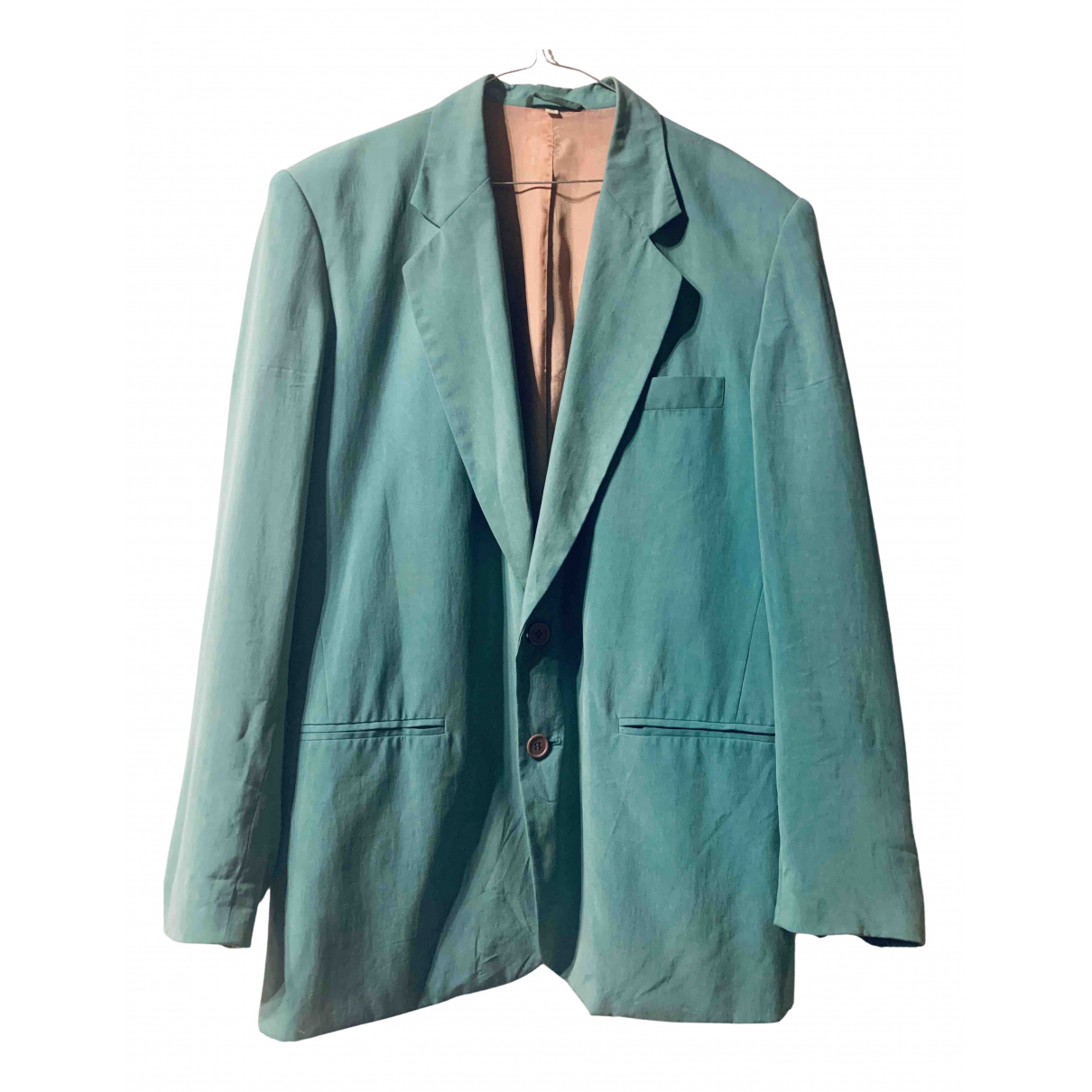 - Veste   pour femme en soie - turquoise