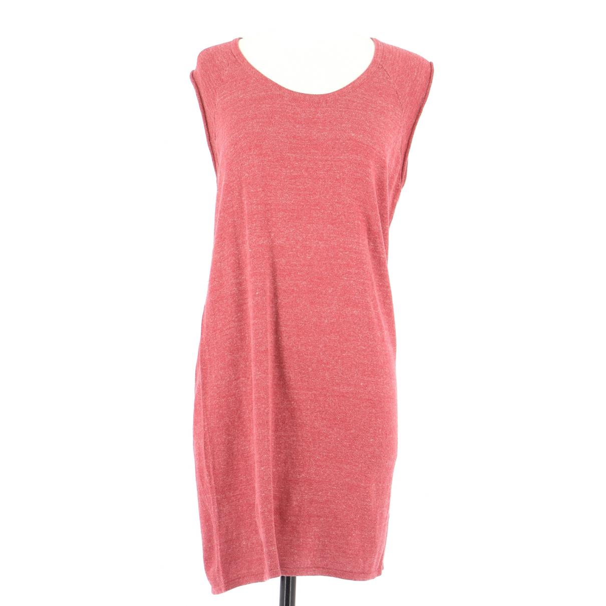 American Vintage \N Kleid in  Rot Baumwolle