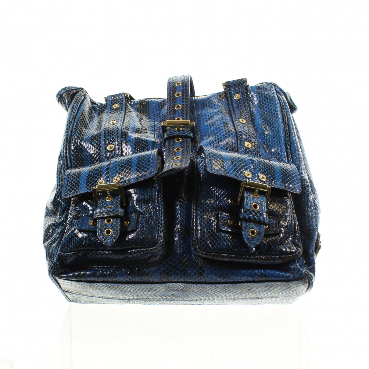 Mulberry Roxanne Blue Leather handbag for Women \N