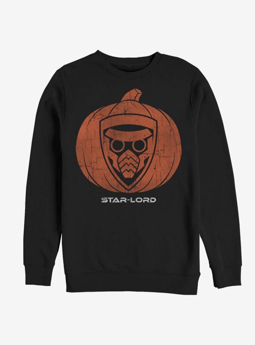 Marvel Guardians Of The Galaxy Star Lord Pumpkin Sweatshirt