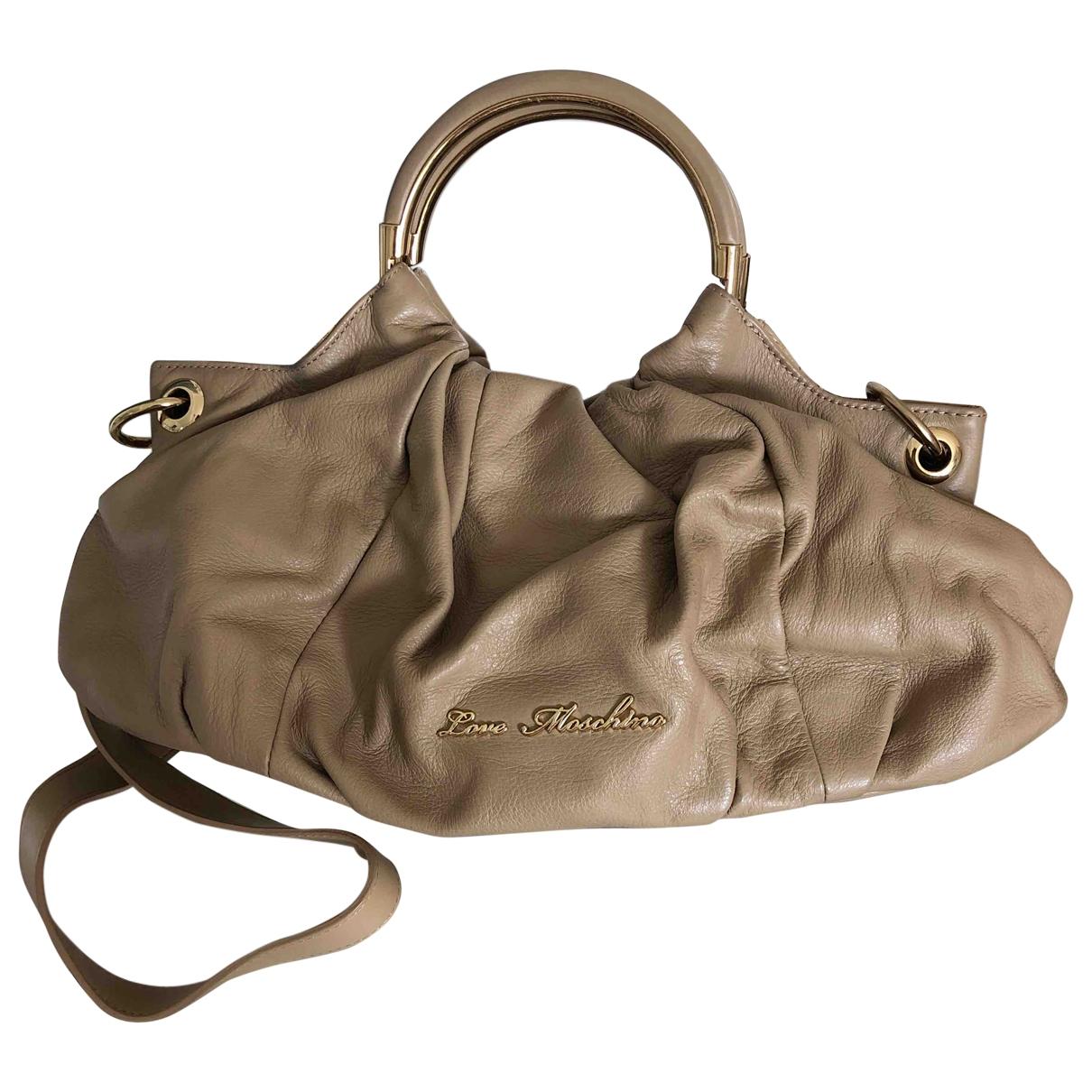 Moschino Love \N Beige handbag for Women \N
