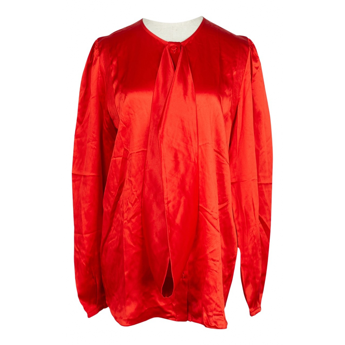 Givenchy \N Red Silk  top for Women 38 FR