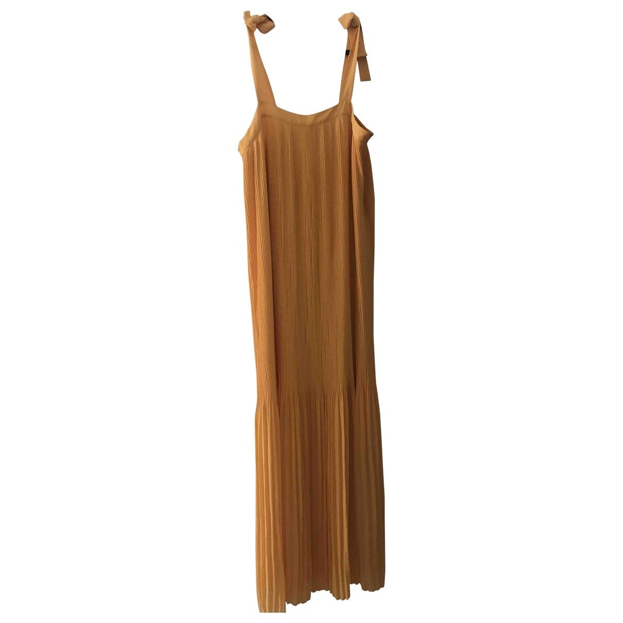 Samsoe & Samsoe \N Gold dress for Women L International