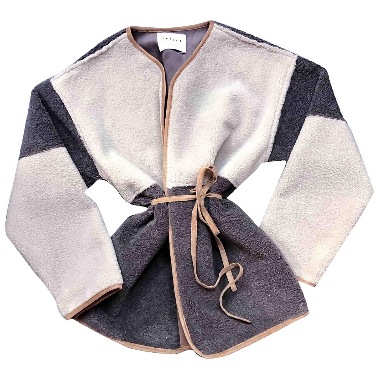 Velvet \N Multicolour Faux fur jacket for Women S International