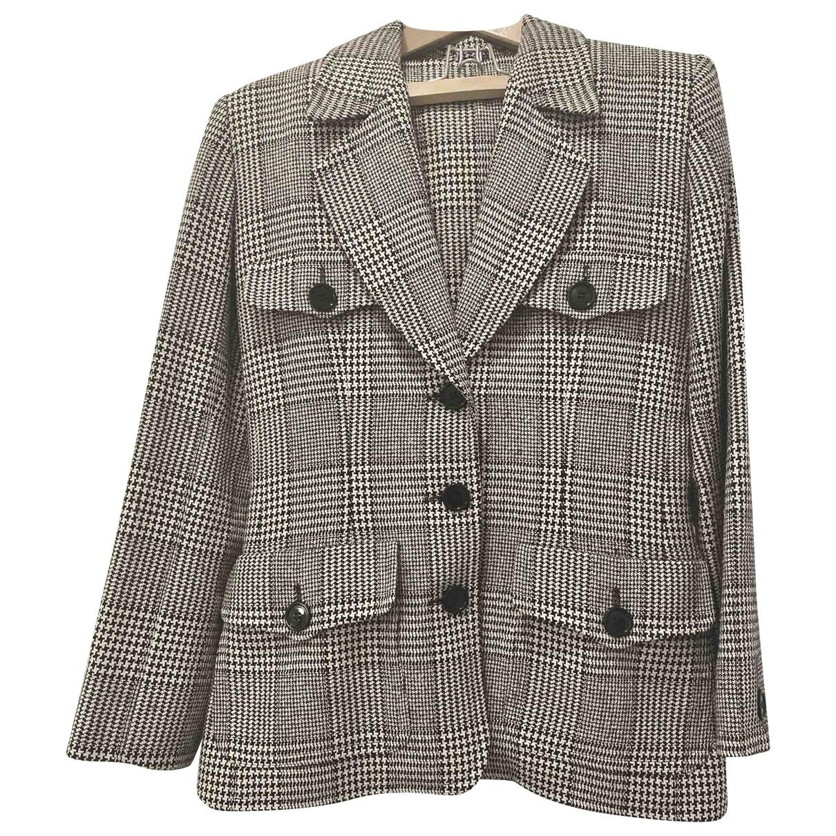 Dior \N White Wool jacket for Women 42 FR
