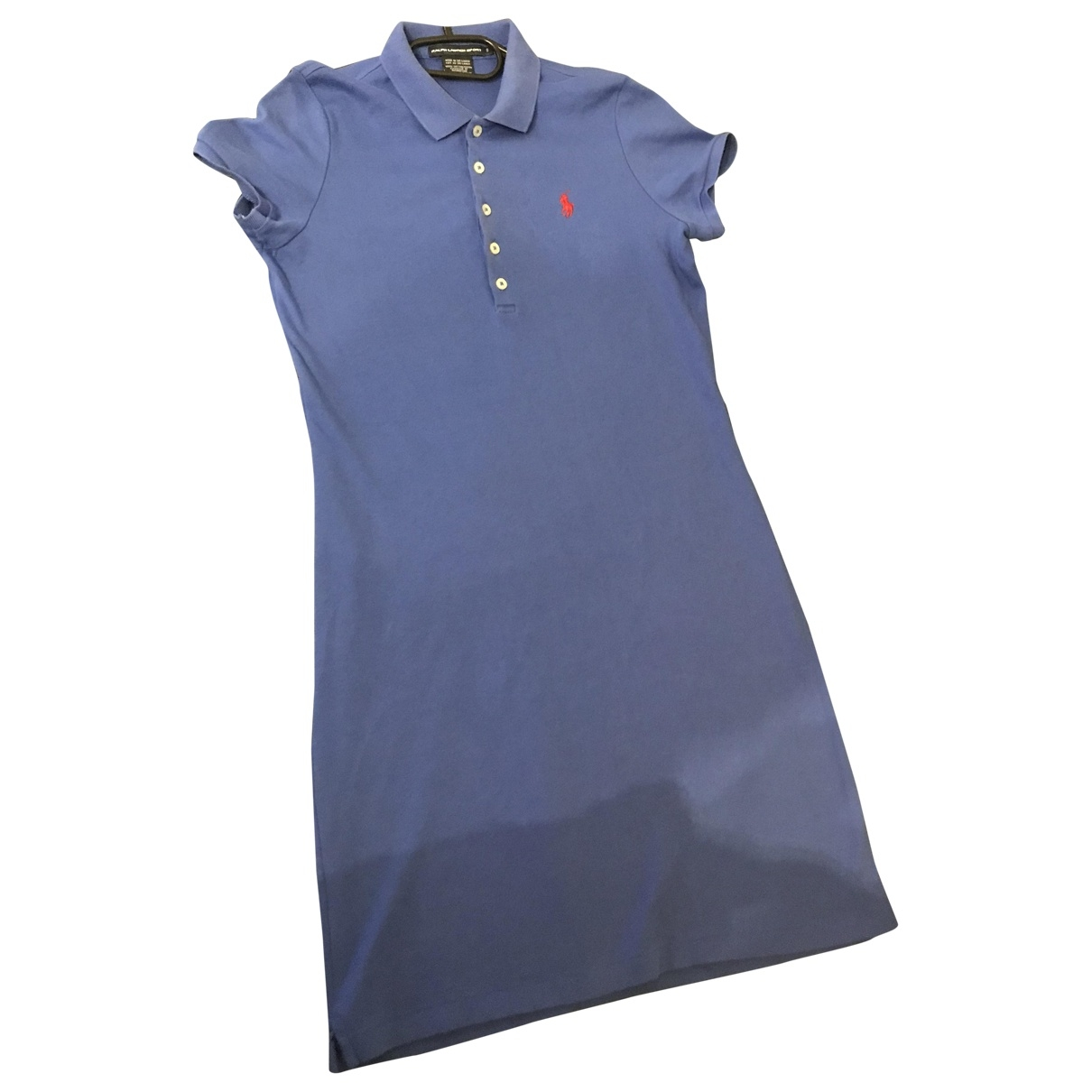 Ralph Lauren \N Blue Cotton dress for Women 36 FR
