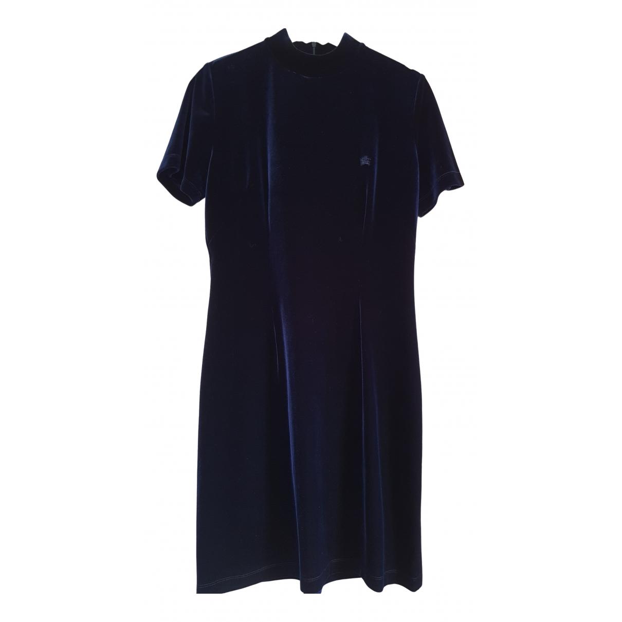 Burberry - Robe   pour femme - marine