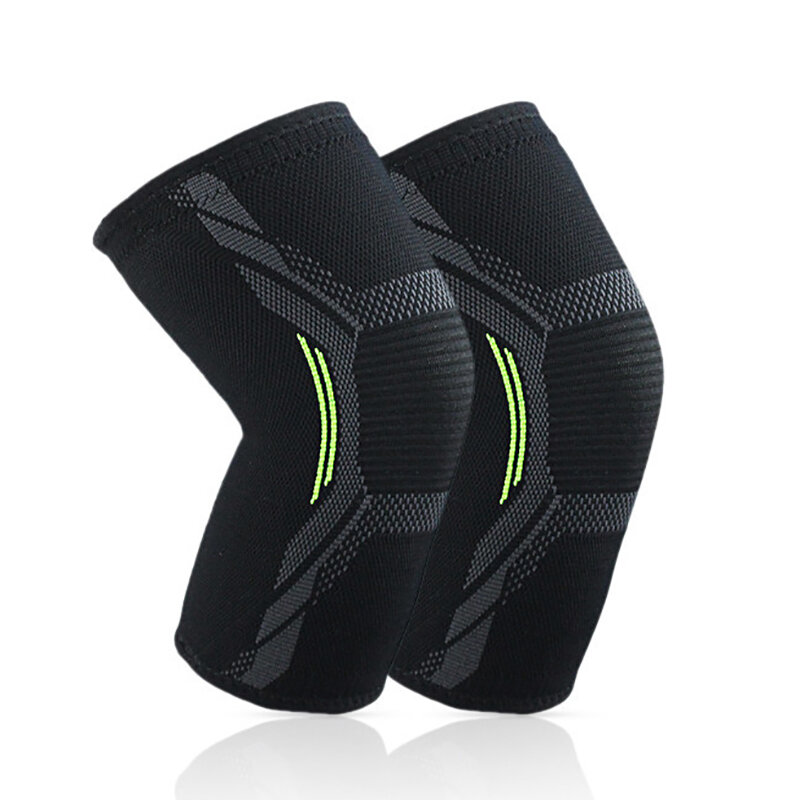 Nylon Gym Exercise Knee Pad Elastic Breathable Fitness Knee Support Sports Protective Brace