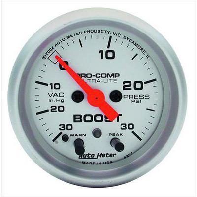 Auto Meter Ultra-Lite Electric Boost/Vacuum Gauge - 4376
