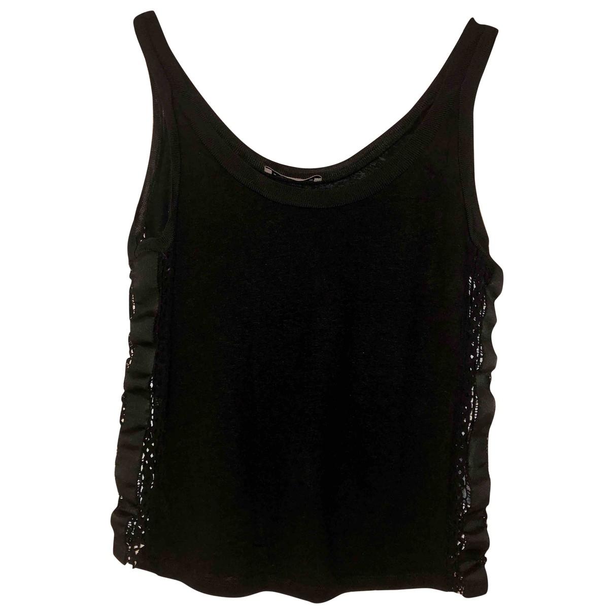 Sandro \N Black Linen  top for Women 8 UK