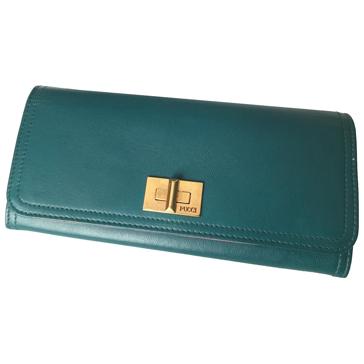 Emilio Pucci \N Green Leather wallet for Women \N
