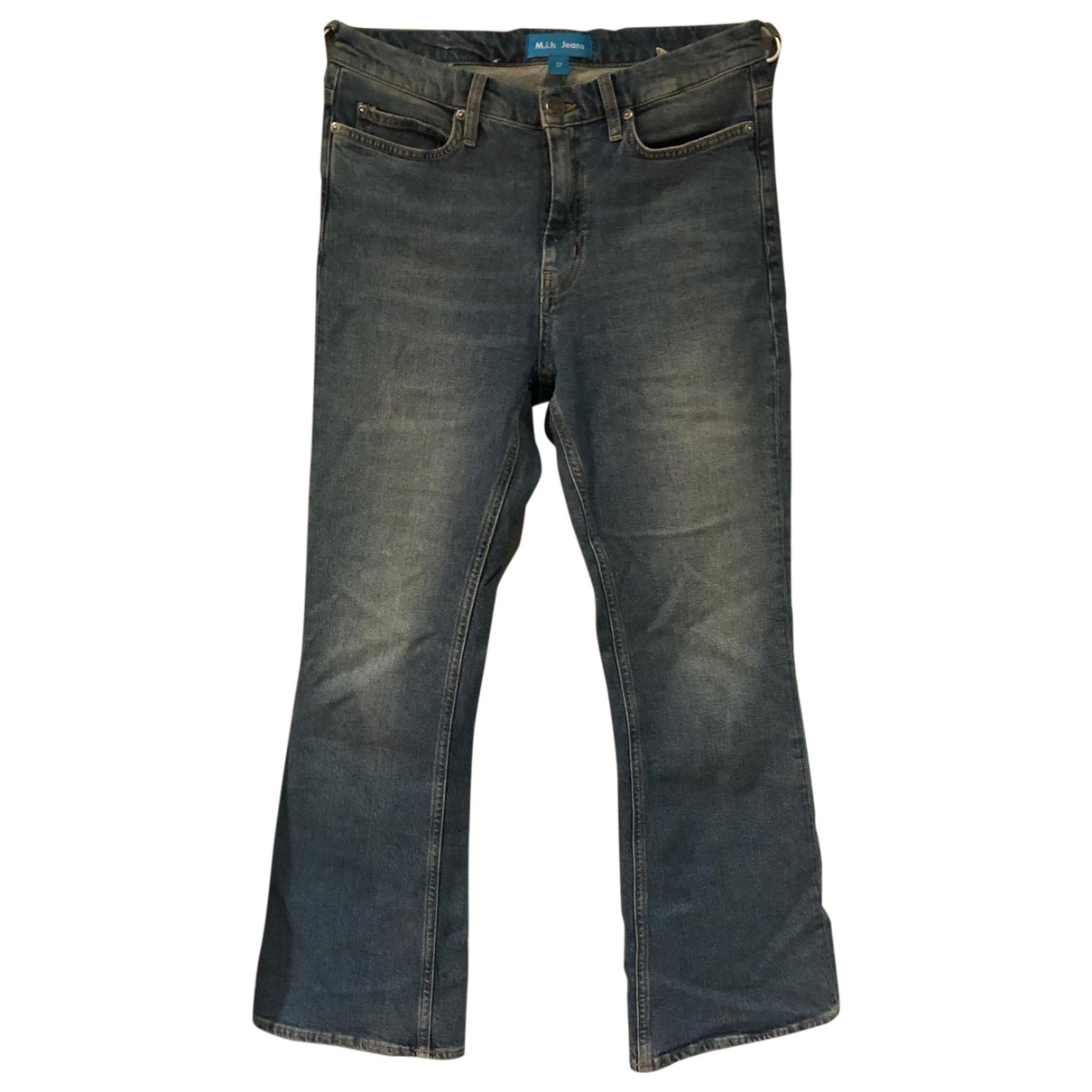 Mih Jeans \N Blue Denim - Jeans Jeans for Women 27 US