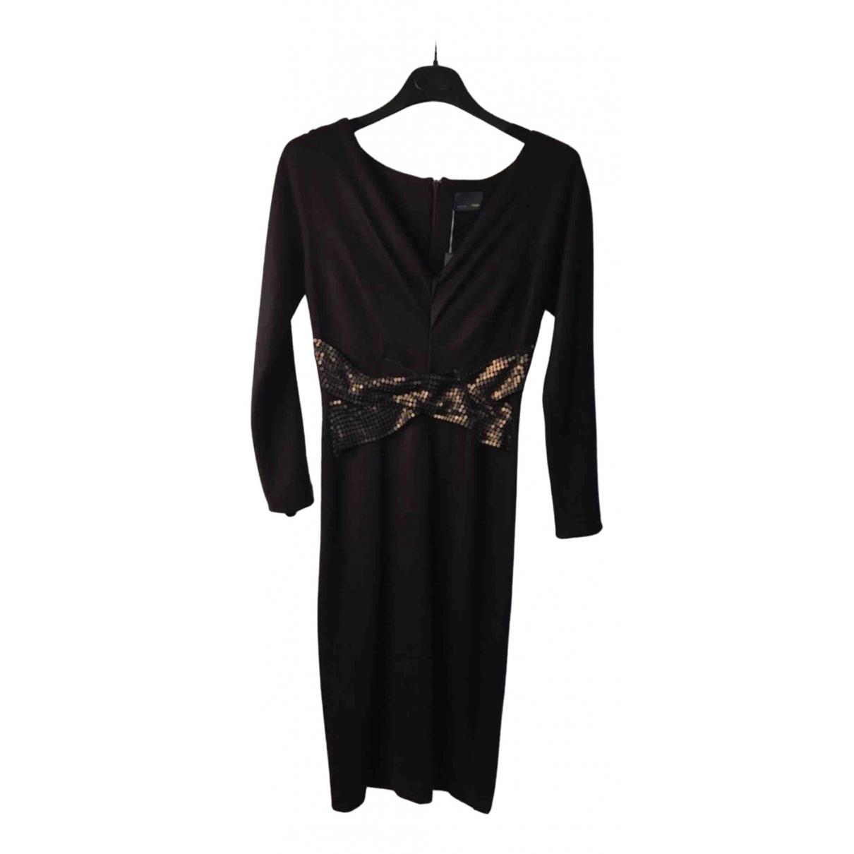 Fendi \N Kleid in  Bordeauxrot Tweed