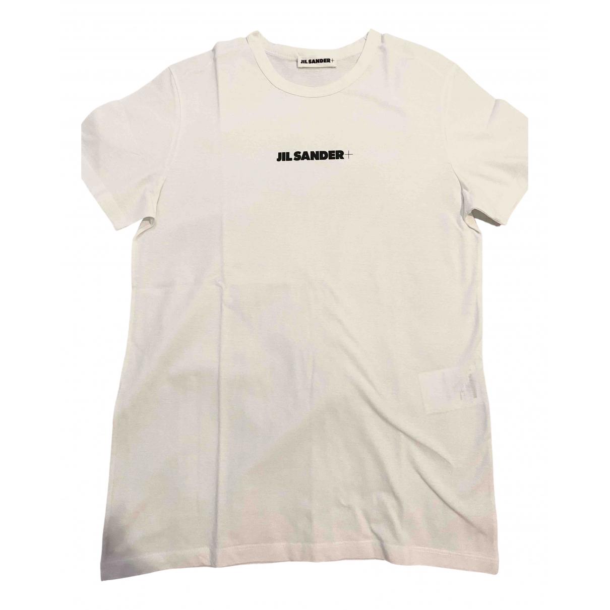 Jil Sander \N White Cotton T-shirts for Men S International