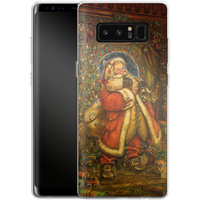 Samsung Galaxy Note 8 Silikon Handyhuelle - Myles Pinkeney - Christmas Presence von TATE and CO